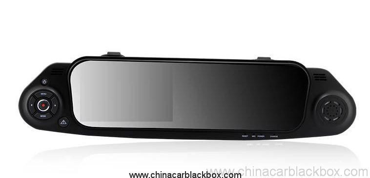 Car Rearview Mirror Camera Recorder DVR Rear view camera with G-sensor