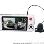 Dual Lens Car DVR with Separate Camera HD 720P G-Sensor 4 IR LED