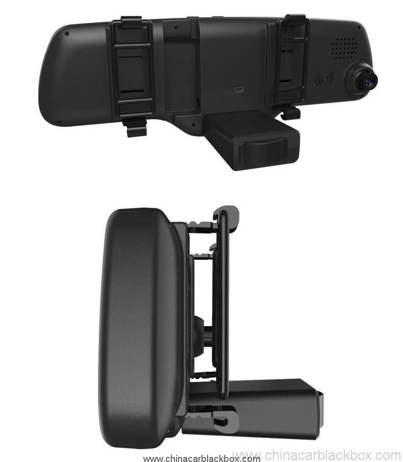 Dual lens full hd rearview mirror car dvr 4