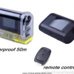 Mini Full HD 1080P Waterproof Sports DV Camera Bike Helmet Diving Boating Skiing Camera