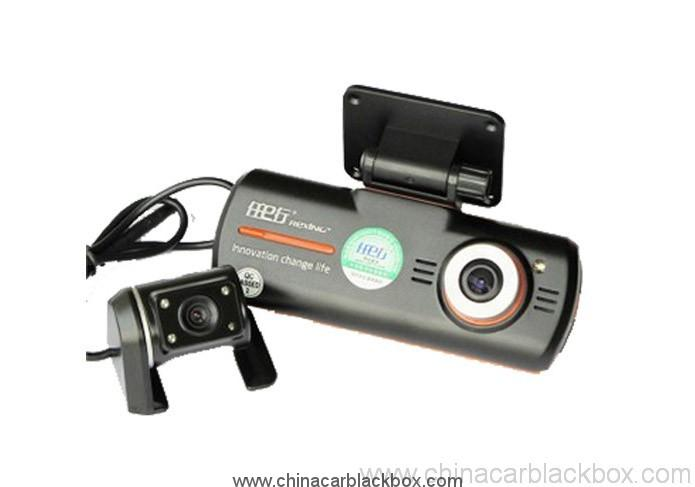 160 Wide-Angle Cycle Recorder 1080HD Night Vision Video Recorder Double Lens car video camera recorder gps 2