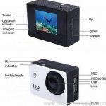 Waterproof mini Wi-Fi sport DV Full HD 1080p 3