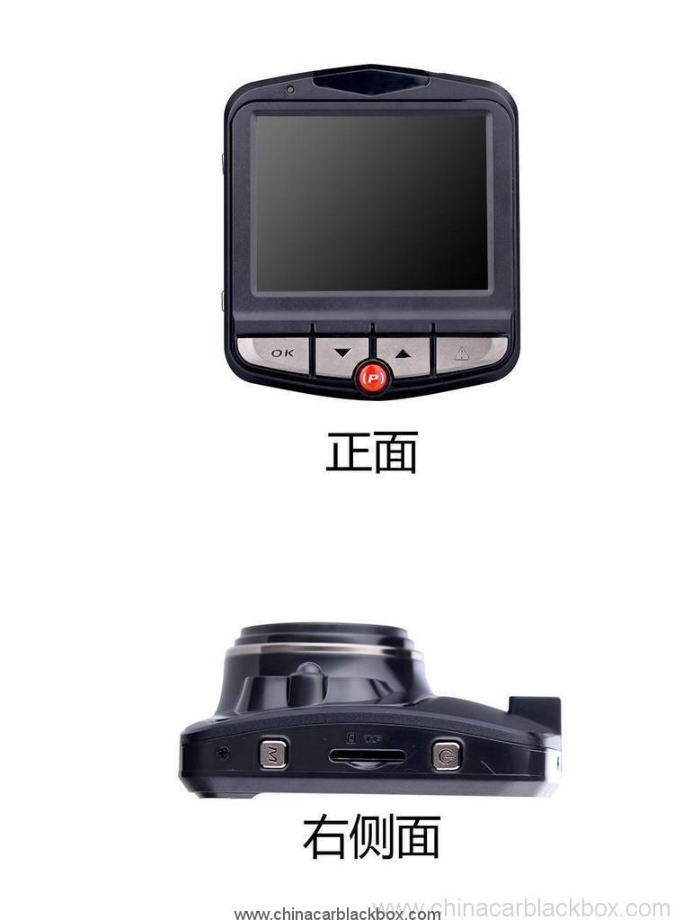 2.0 inch 170degree ultra wide angle 1080P Parking Monitor Dashcam WDR dash cam 7