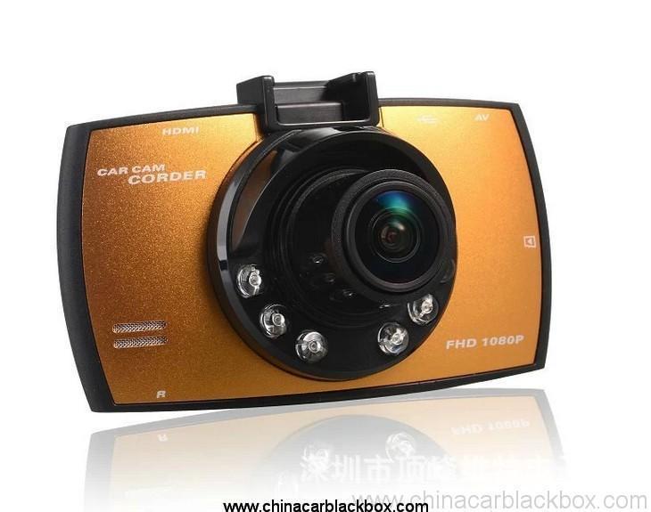 Car dvr dash cam dvr recorder Night vision wide angle Full HD 1080P car black box