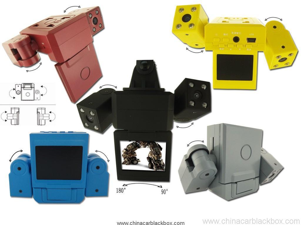c/ámara Full HD 1080P 3para autom/óvil con sensor de movimiento y visi/ón nocturna G Sensor DVR autom/ático para autom/óvil