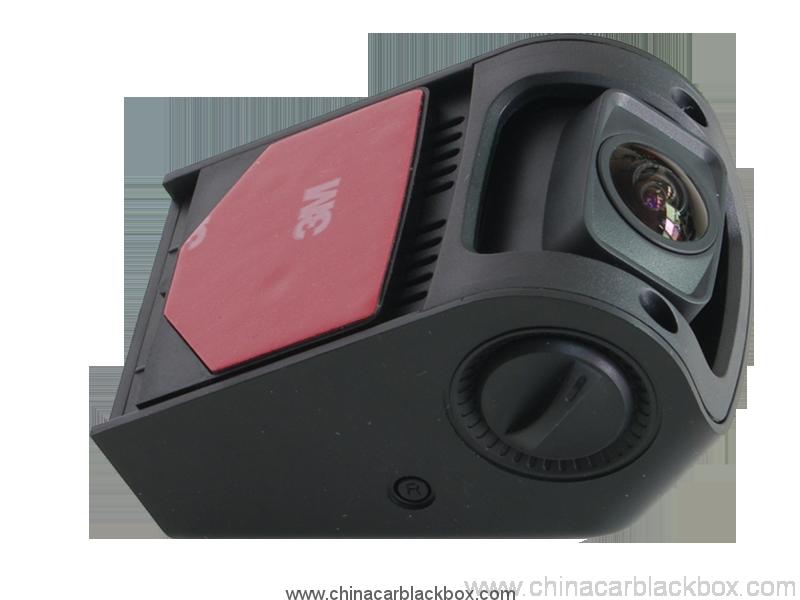 1.5 inch Hidden car DVR with 1080P , 3 megapixels, g-sensor, mobile detection, gps track, av out 4