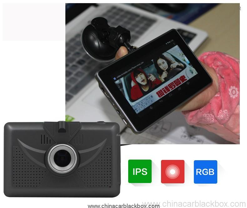 4.5 inch android tablet gps navigation 854×480 IPS screen bluetooth wifi fm gps car dvr 3