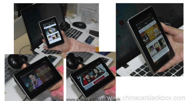 4.5 inch android tablet gps navigation 854×480 IPS screen bluetooth wifi fm gps car dvr 4