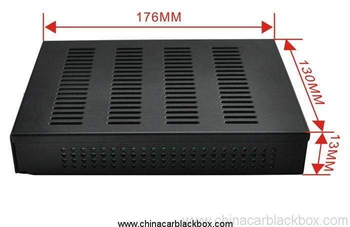 4 channel SD Card Storage 360 Degree Full View Panoramic Car Black Box System 2