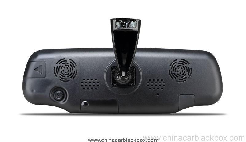 vehicle mounts avaliable car rear view mirror car dvr with radar detector 6