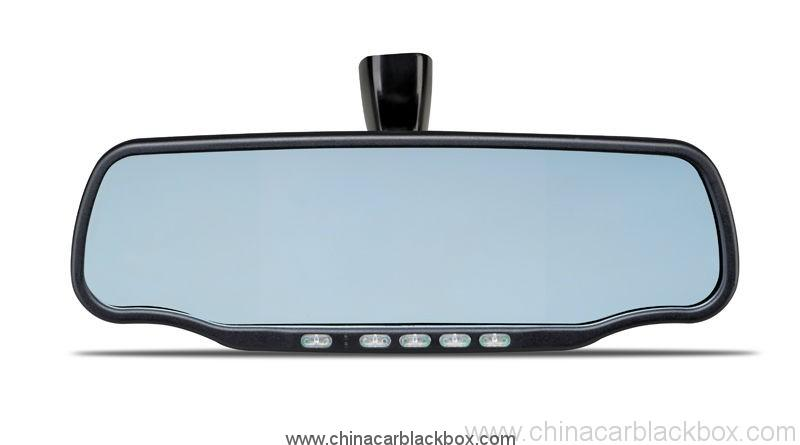 vehicle mounts avaliable car rear view mirror car dvr with radar detector 7