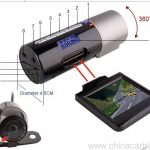 Dual Car Dash Camera HD Car DVR Black Box 3