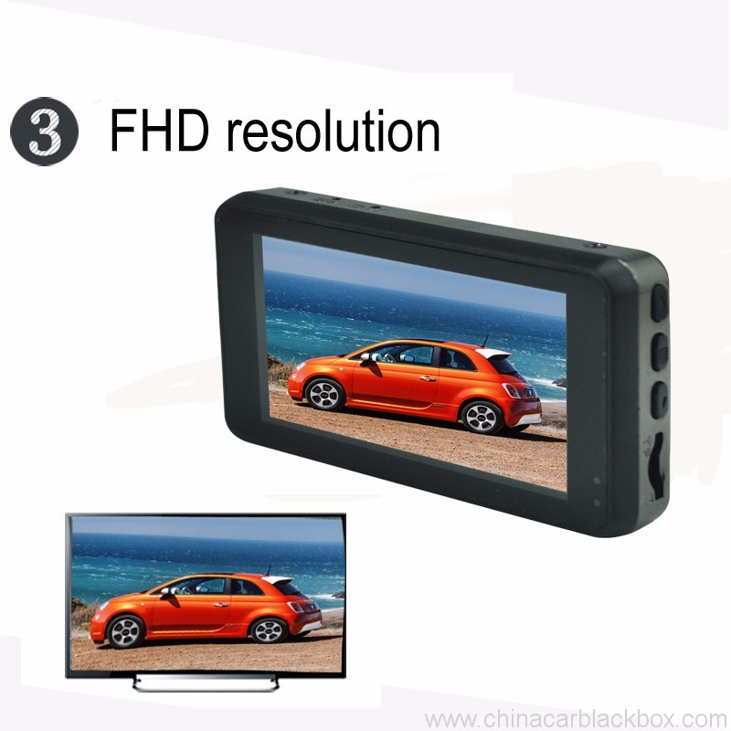 FHD Portable DVR car camera with Parking Monitor 2