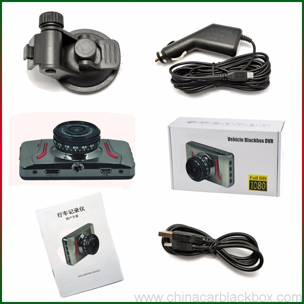 FHD Portable DVR car camera with Parking Monitor 3