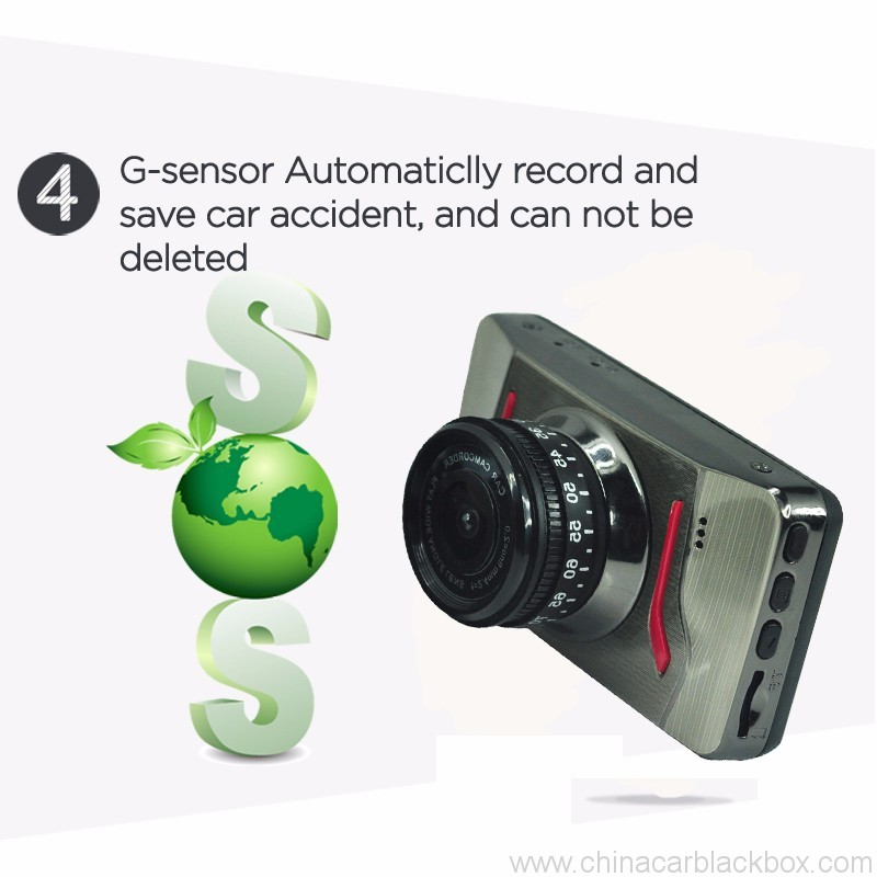 FHD Portable DVR car camera with Parking Monitor 4