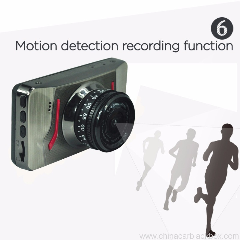 FHD Portable DVR car camera with Parking Monitor 6