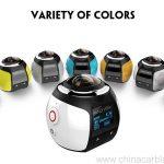 360 Mini WiFi Panoramic Video Camera 4K 16MP Photo 3D Sports DV DVR 6