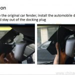 1080P Hidden Wifi Car DVR fit for Benz car 9