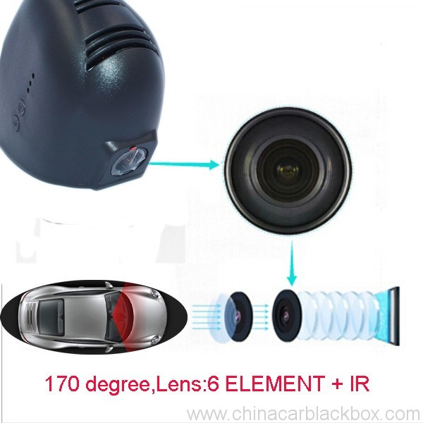 1080P WiFi Car DVR Dash Cam Camera fit for audi car 9
