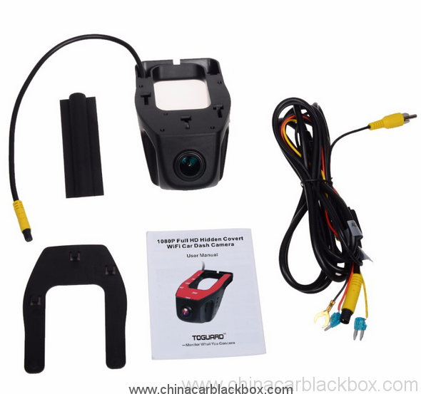 FHD 1080P Car DVR Built-in Wifi camera recorder Support APP Control 4