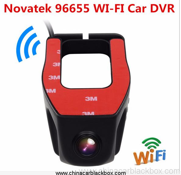 FHD 1080P Car DVR Built-in Wifi camera recorder Support APP Control 9