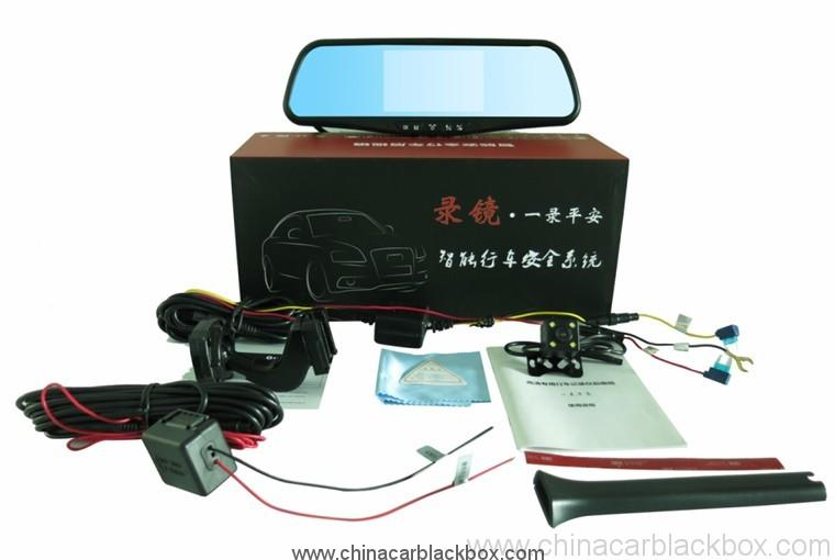 Full HD 1080P Vehicle Blackbox Car DVR Car Rearview Mirror Record mirror 2