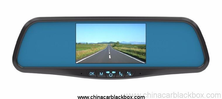 Full HD 1080P Vehicle Blackbox Car DVR Car Rearview Mirror Record mirror 4