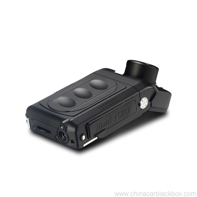 Mini Car DVR with Infrared Night Vision Lights 1080p 4