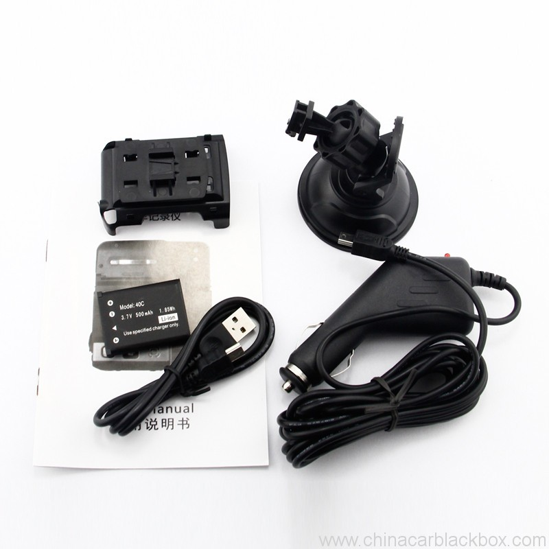 Mini Car DVR with Infrared Night Vision Lights 1080p 7