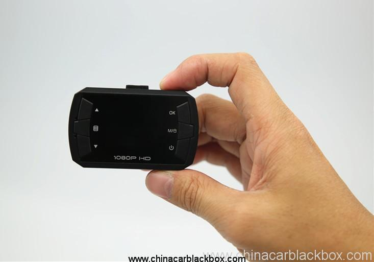 Wide angle automatic G-sensor IR night vision function mini wifi car dvr 6