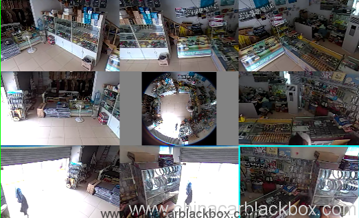 CMOS 1.3MP 960P 360 Degree Fisheye Panoramic IP Camera With Auto Switch IR Cut 2