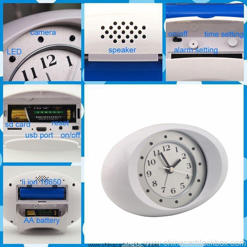 IP Clock Camera with 10 units LED Night Vision 3