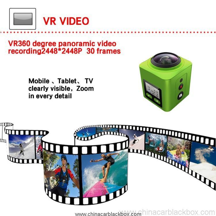 1448p remote control action sport camera 7