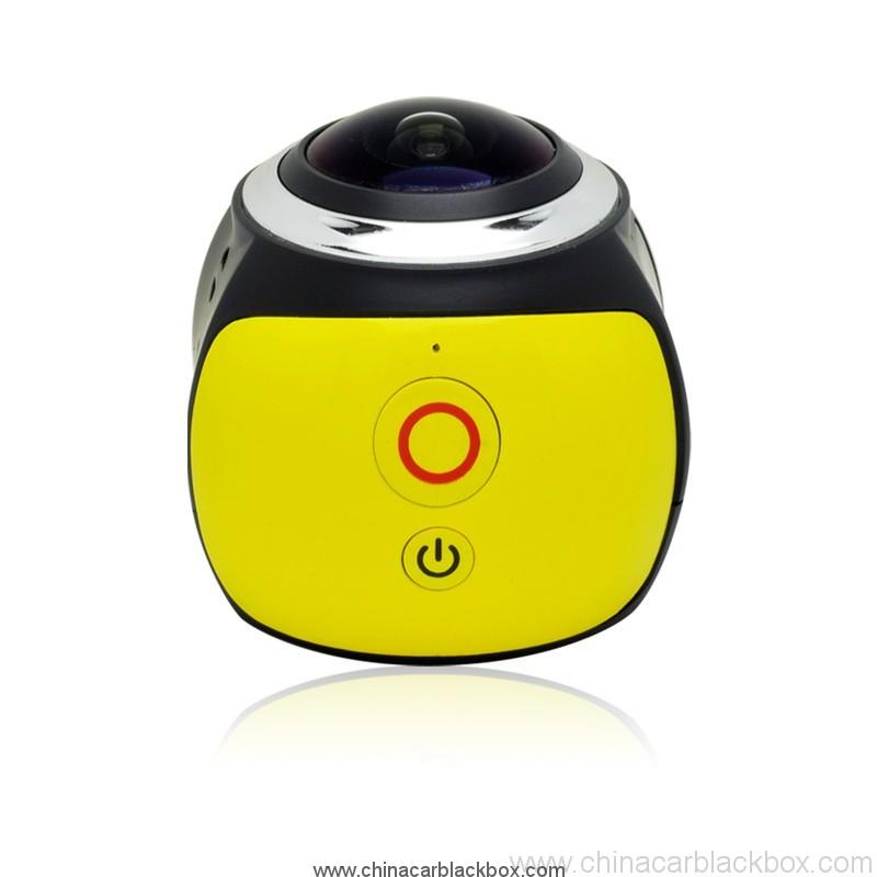 2.4 G waterproof remote control action camera 0.96 inch OLED 3