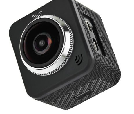 Waterproof full hd 1080p sport camera 210 degree wide lens 9