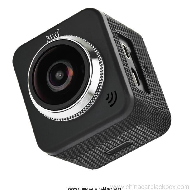 Waterproof full hd 1080p sport camera 210 degree wide lens 9