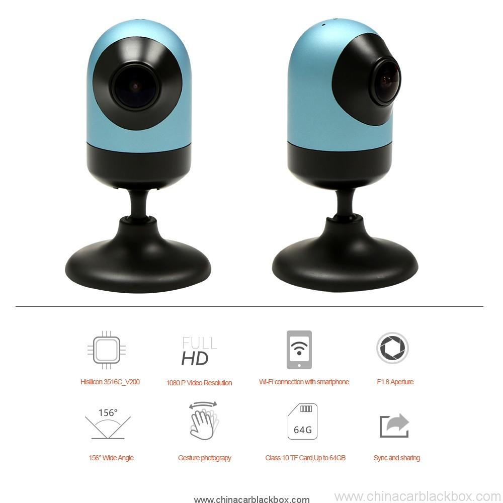 Wifi Connection dash cam Car Driving Recorder with GPS 2